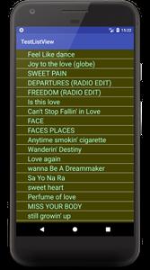 listview a02 - [Android] ListView と ArrayAdapter 簡単なテキストリストの表示