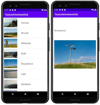 as413 m4 - [Android] ListView リストをタップして画面遷移させてみる