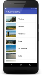 listviewtapcell 1 170x300 - [Android] ListView リストをタップして画面遷移させてみる