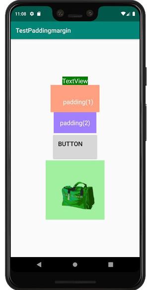 padding margin 03b - [Android] アプリのレイアウトに必須, paddingとmarginで間隔を調整する
