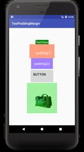 padding 01 - [Android] アプリのレイアウトに必須, paddingとmarginで間隔を調整する
