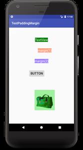 padding 04 - [Android] アプリのレイアウトに必須, paddingとmarginで間隔を調整する