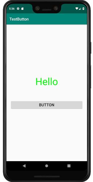 test button 04 - Android の Button アプリを作ってみると簡単だった