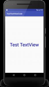 testviewcode 2 170x300 - [Android]  レイアウトファイルを使わないでコードでTextViewを作る