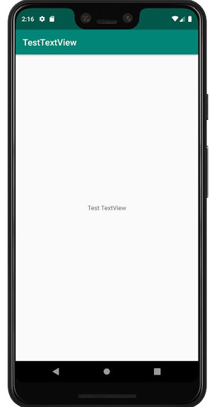 tetview a02 - [Android] TextView で文字を表示