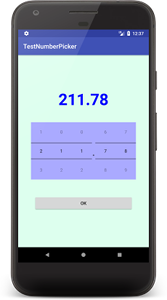 numberpicker 01 - [Android] NumberPicker を設置する