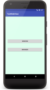 webview 01 - [Android] WebView でウェブアプリの作成
