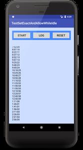 setexact 01b - [Android] Doze mode で AlarmManager の繰り返しアラームを実装するには