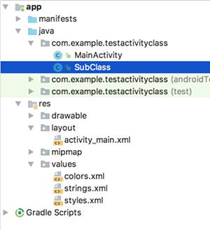 class 01 - [Android]  クラス メソッド の設定と呼び出し