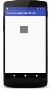 Android] Canvas Animation で円弧を動かす