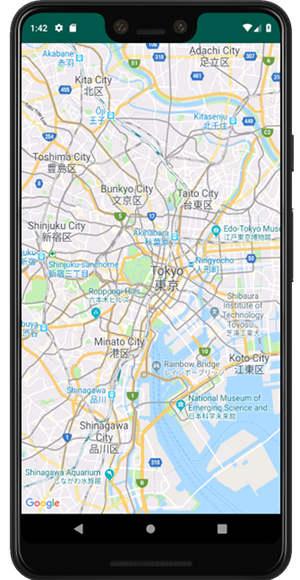 googlemap api 04 - [Android] Google Map 簡単に地図を表示させる