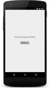 recongnizerintent 0 171x300 - [Android] 音声認識 RecognizerIntent