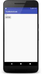 button code 1 - [Android] ButtonをJavaコードだけで設定する
