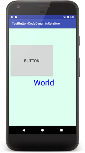 button a04 - [Android] ButtonをJavaコードだけで設定する