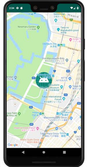 googlemap api 06c - [Android] Google Map ズームとアイコン画像貼り付け
