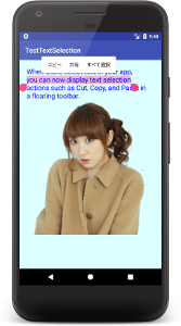 textsellection a01 - [Android] Text Selectionでテキストをコピペ