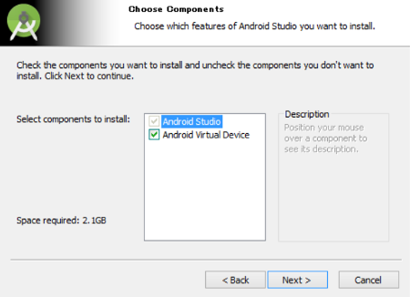 androidstudio 02 - [Android] Android Studio をインストールする手順(Windows)