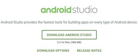 app devop 02 - [Android] Android Studio をMacにインストールする