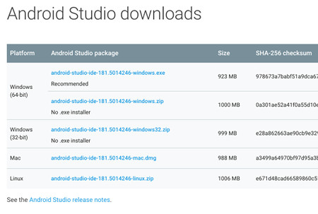 app devop 04 - [Android] Android Studio をインストールする手順(Windows)