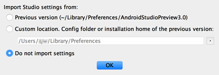 as install 03 - [Android] Android Studio をMacにインストールする