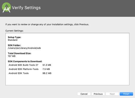 as install 05 - [Android] Android Studio をMacにインストールする
