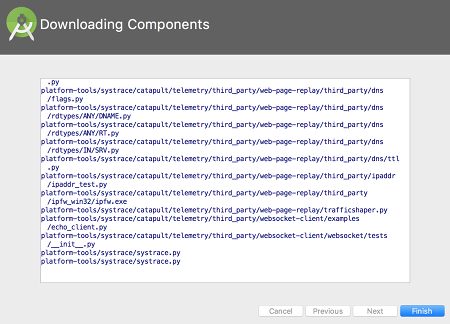 as install 06 - [Android] Android Studio をMacにインストールする