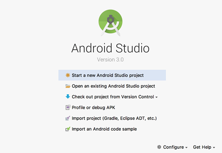as install 07 - [Android] Android Studio をMacにインストールする