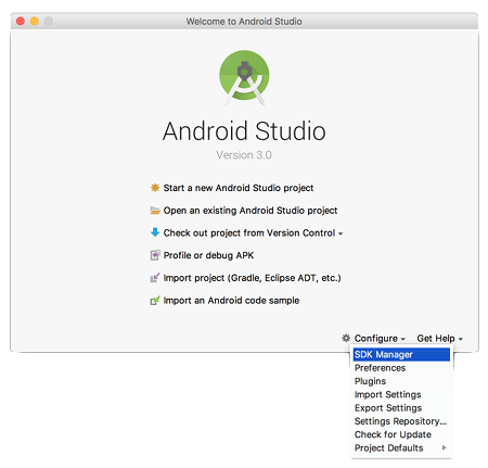 as install 08 - [Android] Android Studio をMacにインストールする