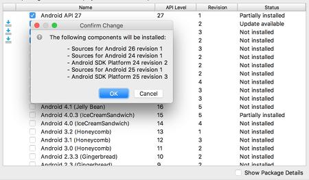 as install 11 - [Android] Android Studio をMacにインストールする