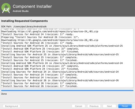 as install 12 - [Android] Android Studio をMacにインストールする
