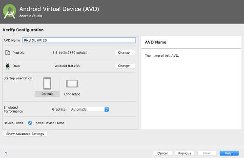 avd 05 - [Android] エミュレータ AVD Manager の設定