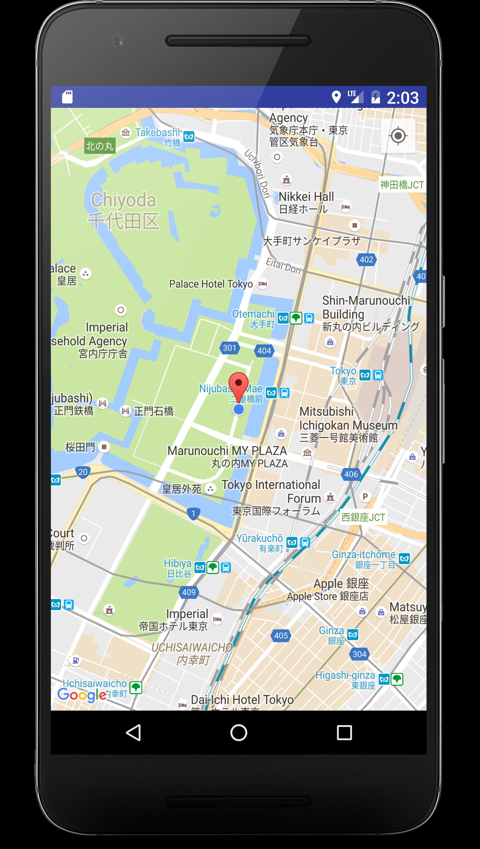 google maps activityを使えばgoogle mapのコードはできているのでapiの設定だけで地図を表示できます。これを使って現在地を表示させたい場合にはfusedlocationapiで . android google mapとgpsで現在位置を表示する  nyanのアプリ開発
