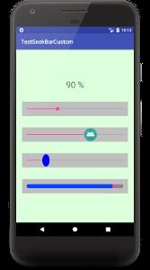 seekbar a01 - [Android] SeekBar の配列をコードで記述、ツマミとPregress barのカスタマイズ