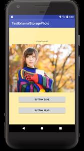 externalstorage photo 01 - [Android] 外部ストレージに画像を保存・読出しをする