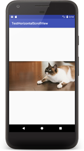 horizontalscrollview 01b - [Android] HorizontalScrollView 横スクロール