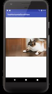 horizontalscrollview 01b - [Android] HorizontalScrollView 横スクロール
