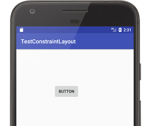 constraintlayout 001 - [Android] ConstraintLayout による制約を設定するには