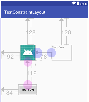 constraintlayout 003b - [Android] ConstraintLayout による制約を設定するには
