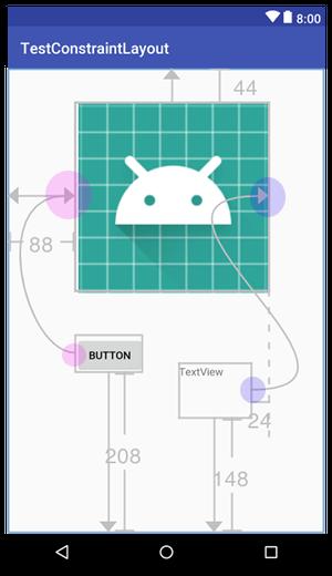 constraintlayout 004 - [Android] ConstraintLayout による制約を設定するには
