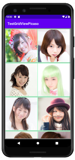 as421 m01 - [Android] Picasso でネット上の画像をGridViewで表示
