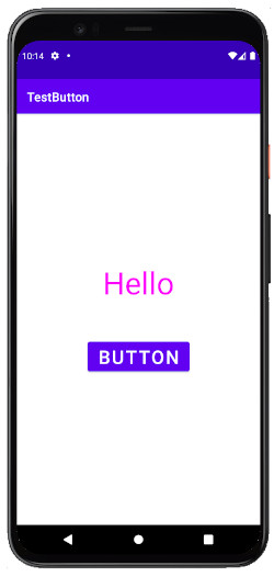 as413k m21 - [Android & Kotlin] Buttonアプリを作ってみる