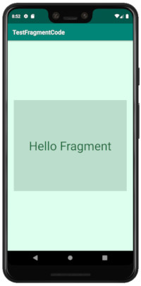 fragment code 02 - [Android] Fragment コードで記述する