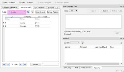 sqlite 03 - [Android] SQLiteのデータを確認する方法